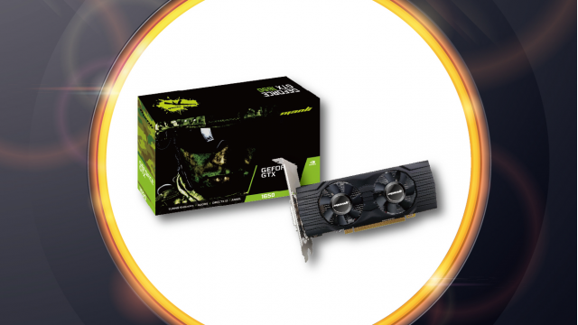 Manli GeForce® GTX 1650 GDDR6 Low Profile
